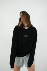 Produktabbildung: in europe Pullover Schwarz