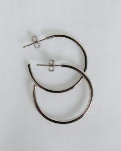 Produktabbildung: Simple Hoop Silber