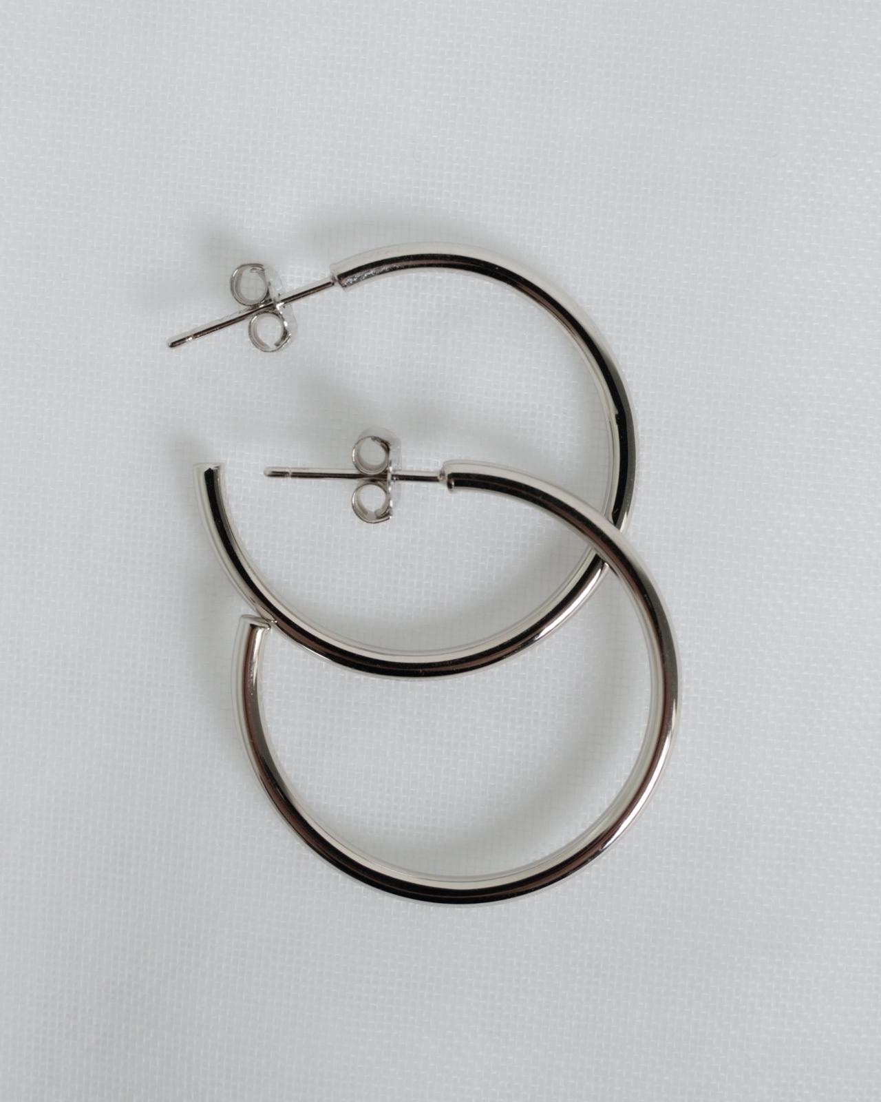 Varianten: Simple Hoop Silber