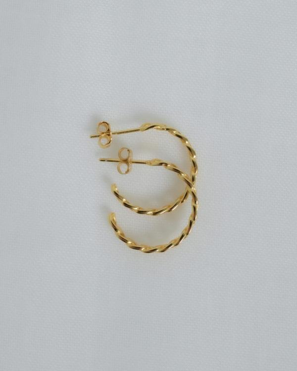 Produktabbildung: Chain Hoop Gold