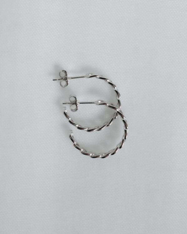 Produktabbildung: Chain Hoop Silber