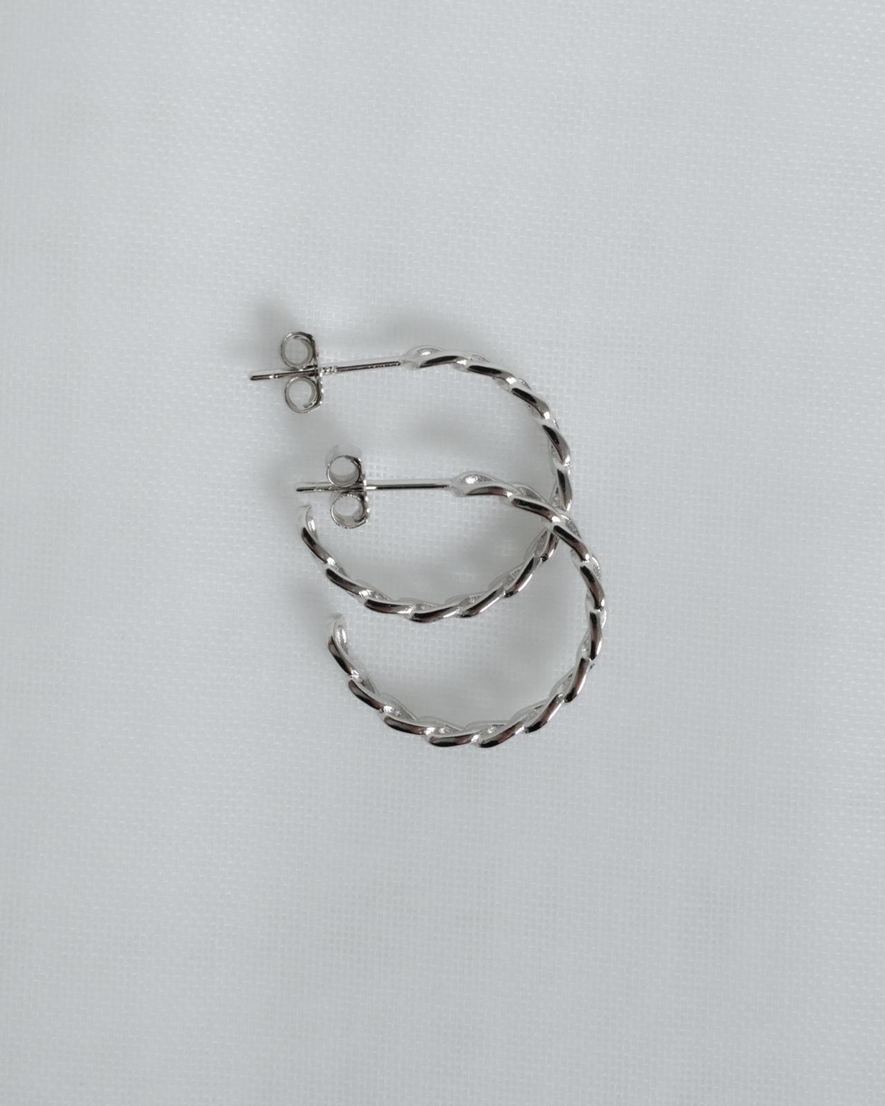 Varianten: Chain Hoop Silber