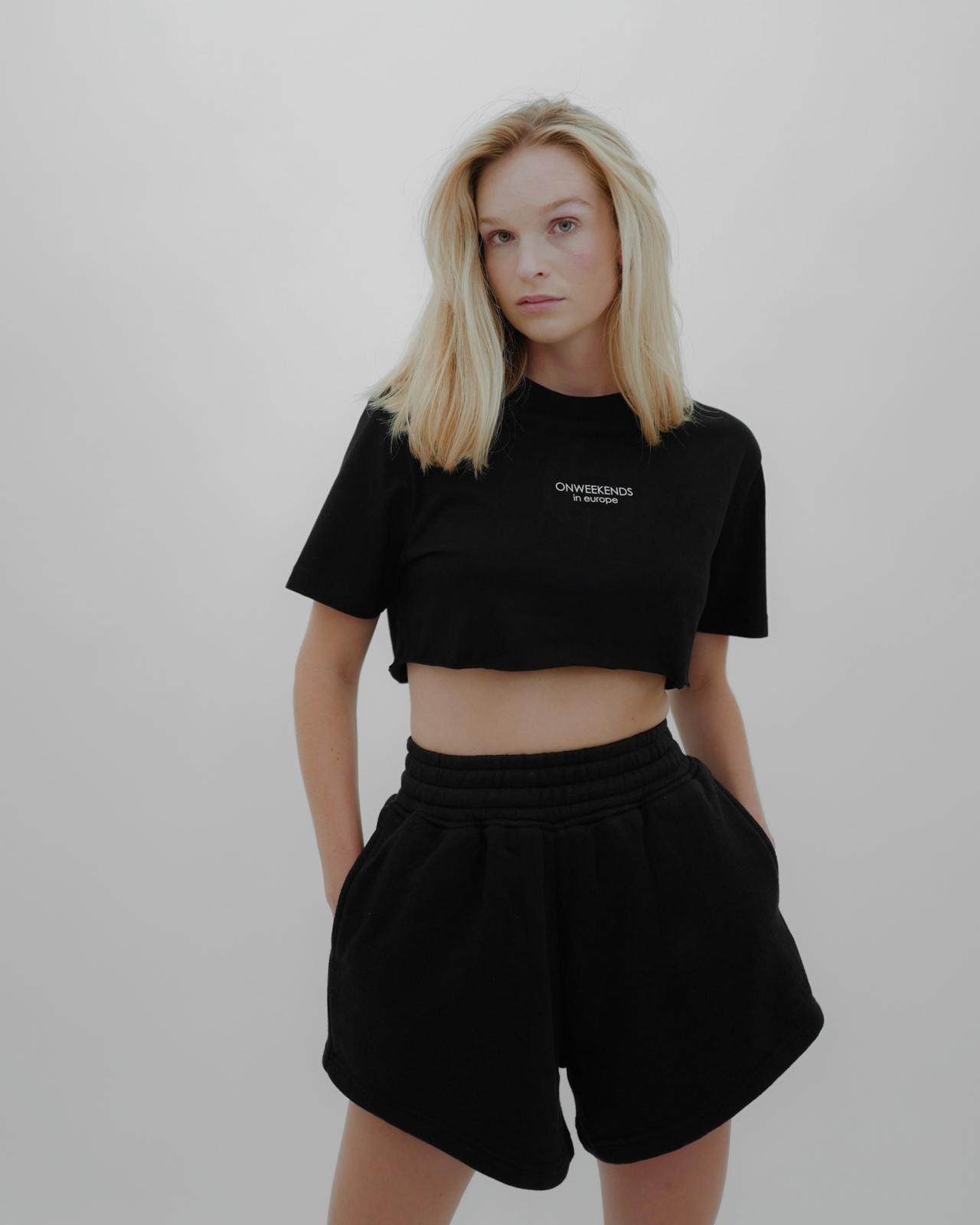 Varianten: ONWEEKENDS Shorts Schwarz