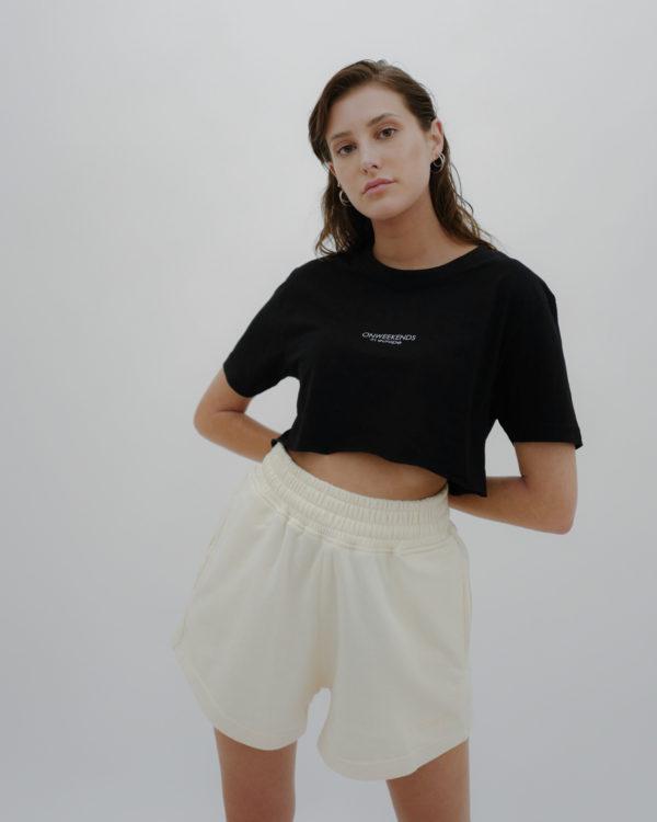 Produktabbildung: ONWEEKENDS Shorts Vanille