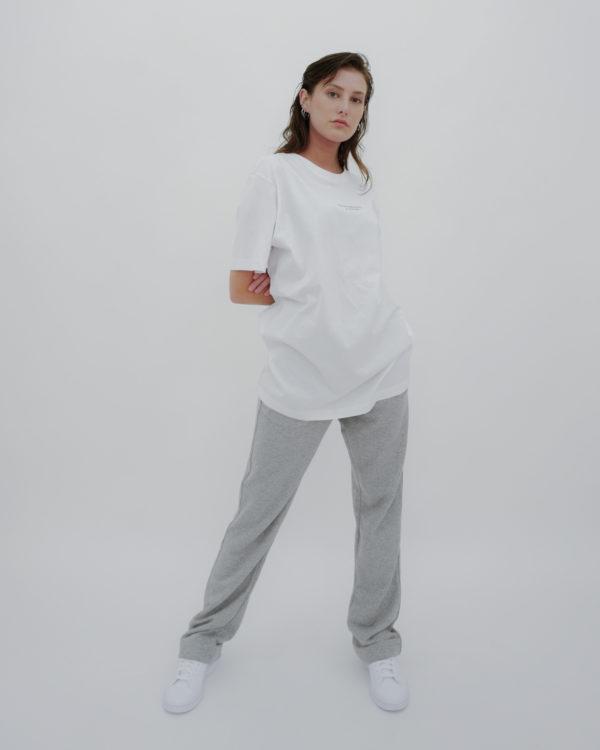 Produktabbildung: in europe Oversized T-Shirt Weiß