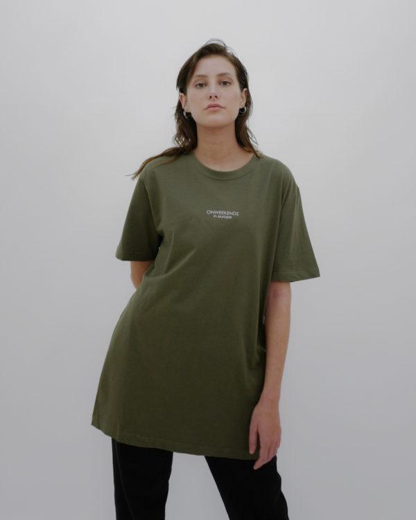 Produktabbildung: in europe Oversized T-Shirt Khaki