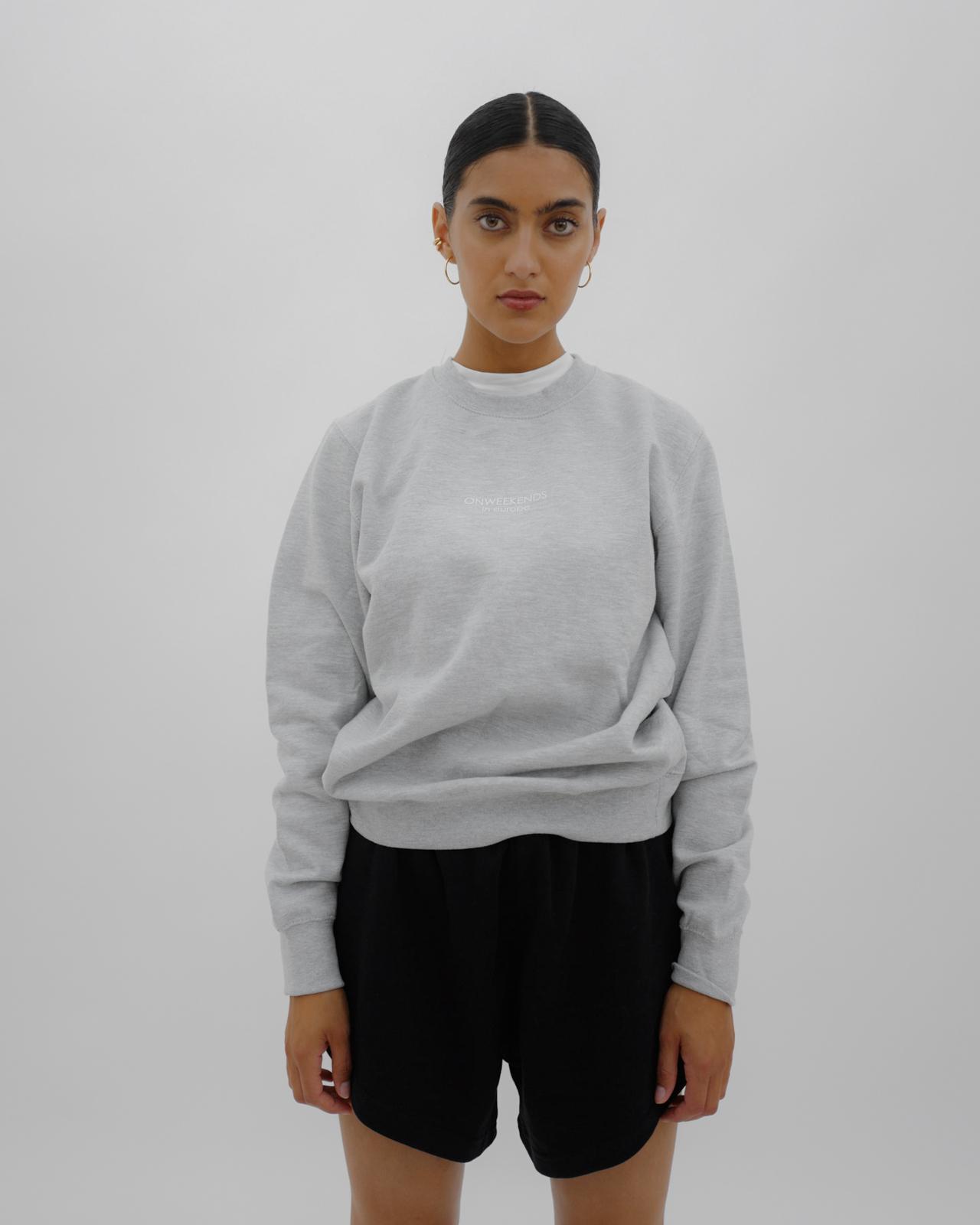 Varianten: in europe Pullover Grau