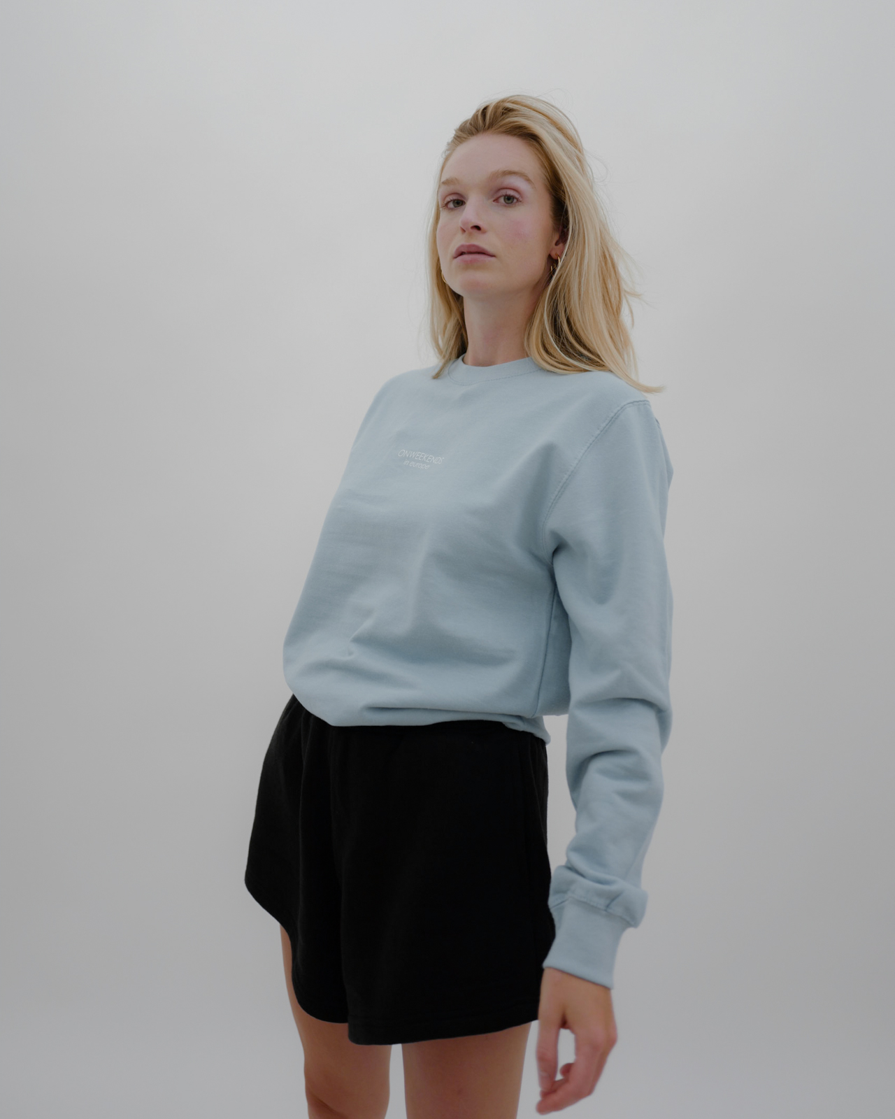 Varianten: in europe Pullover Hellblau LIMITED