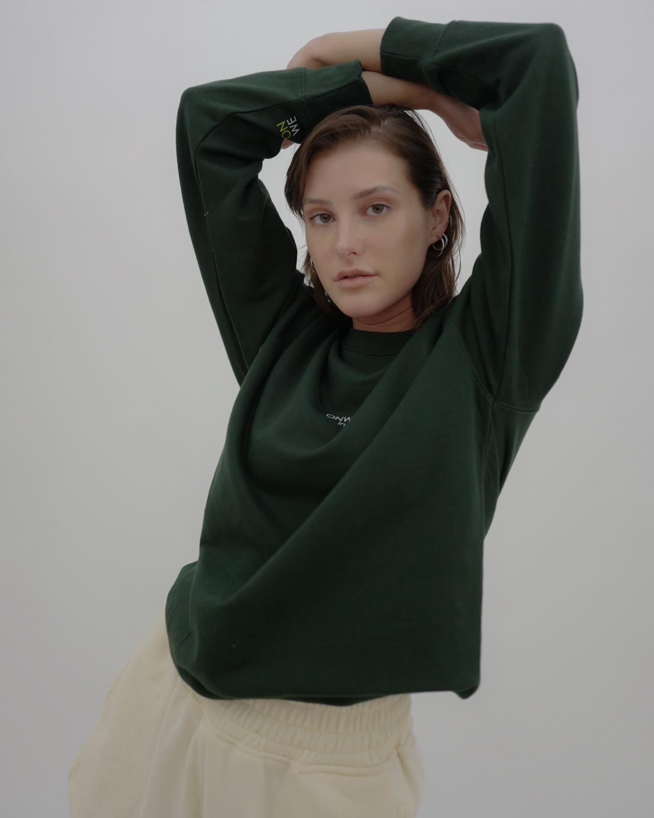 Varianten: in europe Pullover Grün